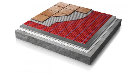Suelo radiante eléctrico - Sistema DCM-PRO Warmup