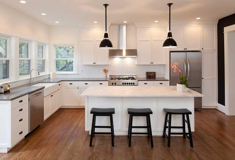 casa reformada con intalaciónn de suelo radiante